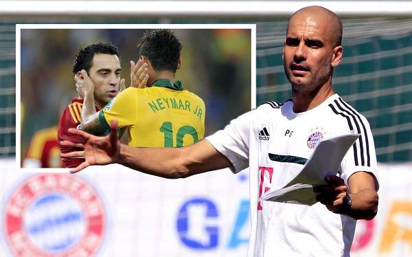 """Guardiola  ve """"perfectamente normal"""" la derrota de España ante Brasil"""