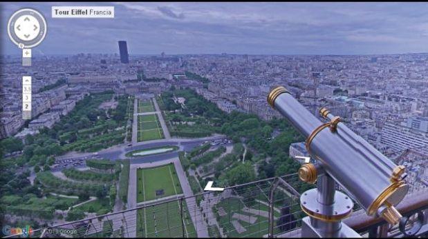 Visita la Torre Eiffel en un imperdible viaje virtual con Street View