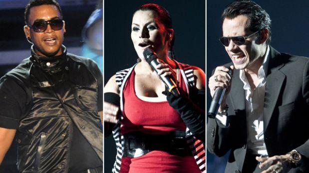 Marc Anthony, Don Omar y Olga Tañón ofrecerán un concierto en Lima