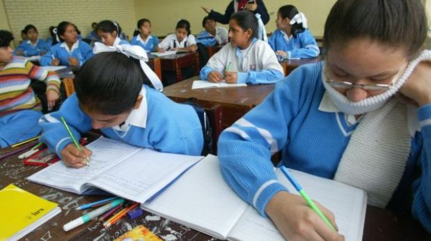 Gripe AH1N1: clases en colegios de Lima Metropolitana se reinician hoy