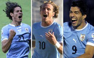 Perú-Uruguay: Forlán-Suárez-Cavani, un tridente charrúa que no sabe ganar de visita