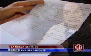 Eva Bracamonte Fefer escribió una nueva carta para criticar a fiscal