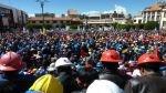 Abancay: al menos 15 policías resultan heridos por protestas de mineros artesanales - Noticias de fc barcelona