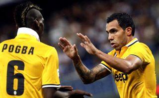 Tevez dio triunfo a Juventus ante Sampdoria en su debut en la Serie A