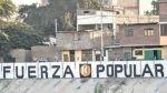 Piura: agrupaciones políticas realizan pintas en la calle sin autorización - Noticias de carlota grau