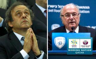 Mundial Qatar 2022: Platini quiere que sea en enero y Blatter en diciembre
