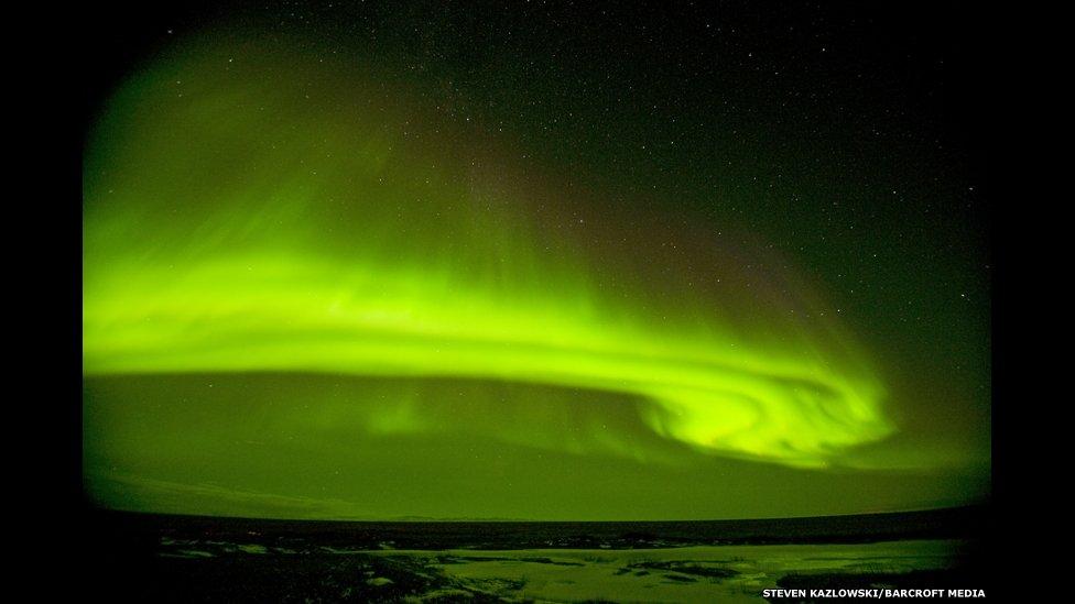 FOTOS: extraordinarias imágenes de la aurora boreal en Alaska
