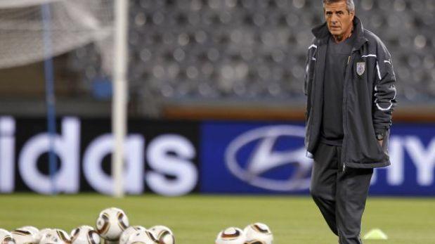 """DT de Uruguay: Contra Perú jugamos """"un partido decisivo"""""""