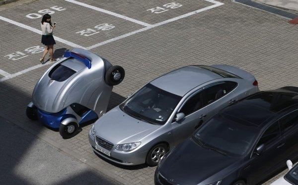 Conoce el auto que se pliega para estacionarse