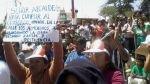 Piura: indignación por abandono de obra de alcantarillado por S/. 18 millones - Noticias de javier cobenas vega redaccion piura