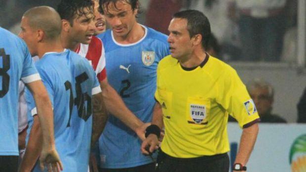 Patricio Loustau, el pésimo árbitro del Perú-Uruguay