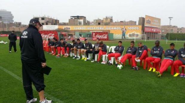 Perú realizó su último entrenamiento en Lima antes de viajar a Venezuela