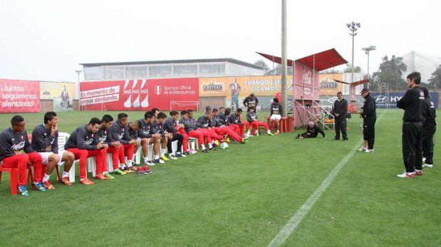 FOTOS: el último entrenamiento de la selección peruana en Lima antes de enfrentar este martes a Venezuela