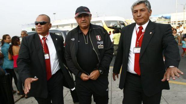 La selección peruana viajó a Venezuela en busca de la hazaña