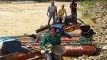 Piura: dragas contaminan río a cinco metros de puesto policial en Ayabaca - Noticias de javier cobenas vega redaccion piura