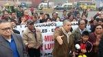 Santa Anita: asegurados de Essalud bloquearon la Carretera Central - Noticias de jorge voto bernales