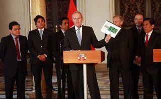Ollanta Humala se reunirá con líderes tras diálogo con partidos, según PPK