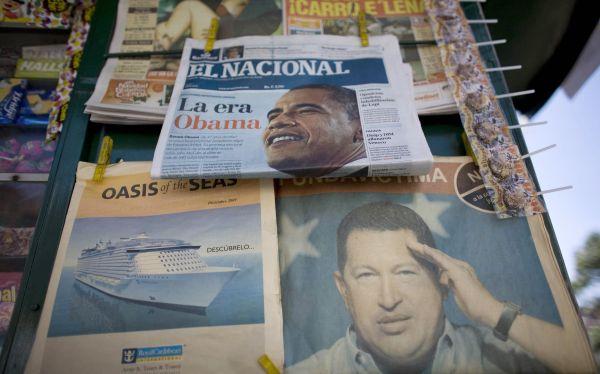 Paran las rotativas en Venezuela... pero por falta de papel periódico