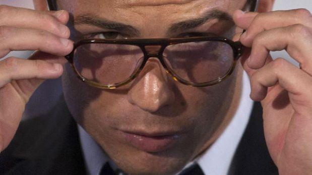 Las gafas de Cristiano Ronaldo alborotaron las redes sociales