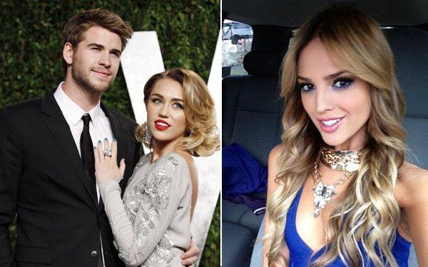 Liam Hemsworth se luce con Eiza González tras terminar con Miley Cyrus