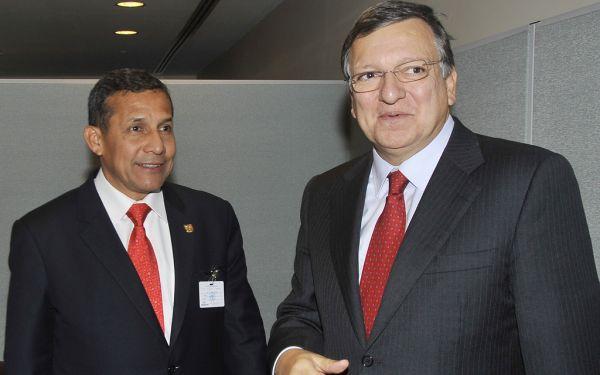 Ollanta Humala confía en que los peruanos podrán viajar a Europa sin visa