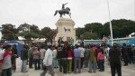Pánico por sismo: pobladores de Ica y Moquegua tomaron plazas de armas y parques - Noticias de santos cubillas