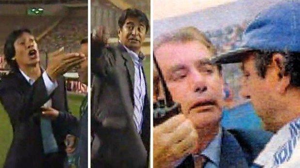 Trece broncas épicas entre técnicos del fútbol peruano y mundial