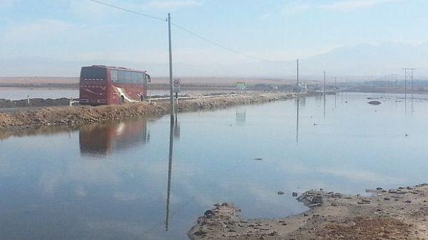 Arequipa: acceso al puerto de Matarani está en peligro de quedar inundado