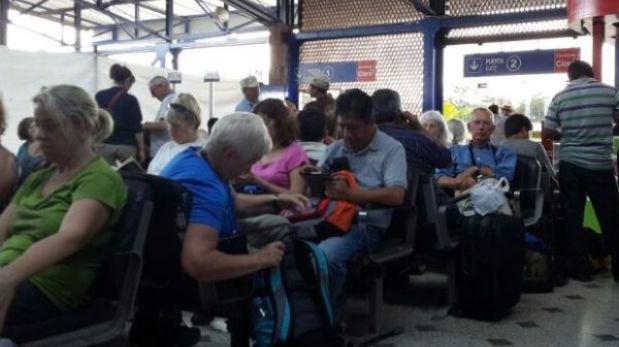 Vuelos a Cusco fueron suspendidos por tormenta