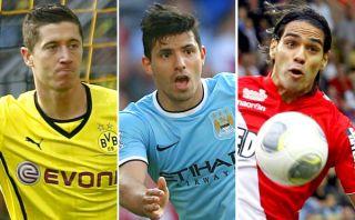 Lewandowski, Agüero o Falcao: ¿Quién será el próximo '9' de Real Madrid?