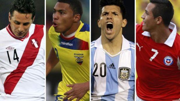 Eliminatorias Brasil 2014: así va la tabla de posiciones de la fecha 17
