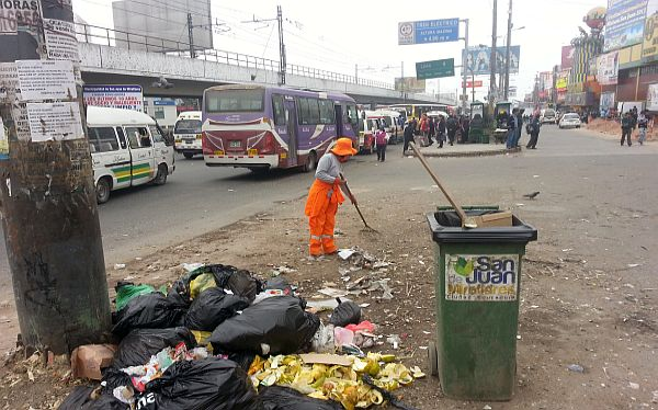 SJM descartó problemas en recojo de basura tras ruptura de contrato con Relima
