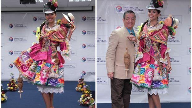 Miss Perú Universo 2013: Cindy Mejía lucirá traje típico en certamen