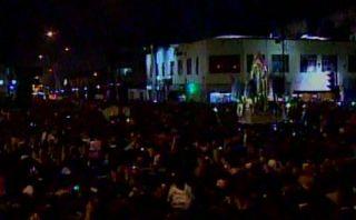 Señor de los Milagros: tumulto causó pánico entre fieles en procesión