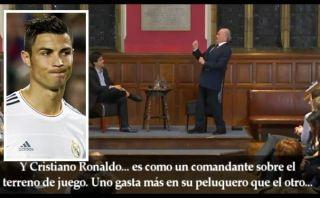 Joseph Blatter se burló de Cristiano Ronaldo y dijo que prefiere a Messi [VIDEO]