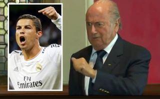 Real Madrid le pidió a Blatter rectificarse por burlas sobre Cristiano Ronaldo