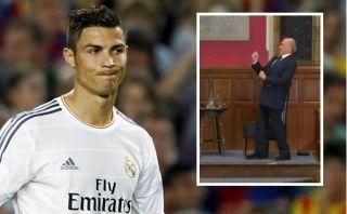 """Cristiano sobre burla de Blatter: """"El video muestra el respeto que me tiene la FIFA"""""""