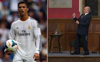 Blatter le pidió disculpas a Cristiano Ronaldo por esta burla [VIDEO]
