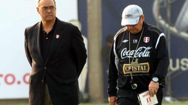 Sergio Markarián no se quedará en Perú: Manuel Burga no lo convenció