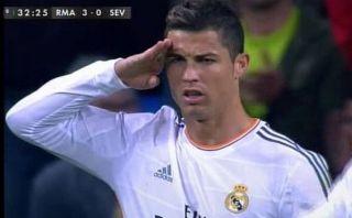 """Cristiano Ronaldo celebró como un """"comandante"""" en respuesta a Blatter [VIDEO]"""