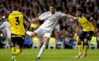 Cristiano, sus tres goles, el saludo militar y el apoyo del hincha [VIDEO]