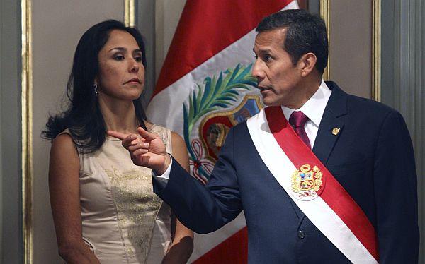 Ollanta Humala no descartó que Nadine Heredia postule en el 2021
