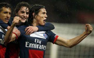 PSG arrolló 4-0 al Lorient con dos goles de Edinson Cavani [VIDEO]