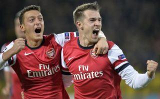 Champions: Arsenal ganó 1-0 al Borussia Dortmund pero aún no asegura su pase [VIDEO]
