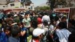 Estudiantes de La Cantuta retoman su marcha por la Carretera Central - Noticias de freddy aponte