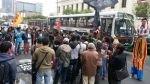 Estudiantes de La Cantuta volverán a marchar si la ANR no se retira de su universidad - Noticias de freddy aponte