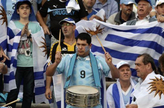 Uruguay apabulló a Jordania de visita con el aliento 'charrúa'