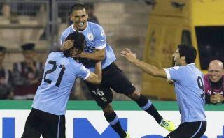 Uruguay aplastó 5-0 a Jordania y ya se siente en el Mundial