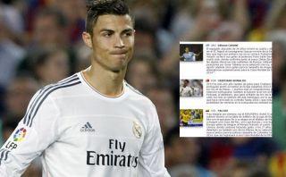 FIFA comete error en perfil de Cristiano Ronaldo ¿para favorecer a Messi?