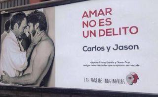 Figuras del espectáculo y la política se unieron en campaña contra la homofobia [FOTOS]